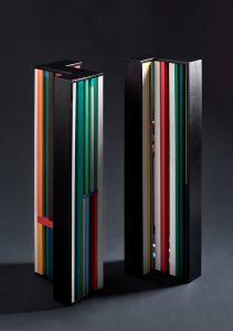 Hardedge Painting, Hardedge Sculpture, Hugh Byrne, Painting, Geometric, Art