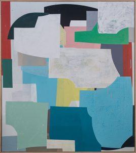 Hardedge Painting, Hugh Byrne, Painting, Geometric, Art